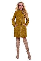 Женское шерстяное демисезонное пальто арт. Тиват букле 6791