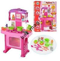 661-51 Детская кухня, посуда, свет, звук, духовка