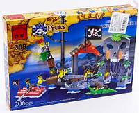 Brick 309 Конструктор Пираты 206 дет