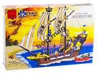 Конструктор Brick 307 Пираты корабль 590 дет