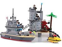 Конструктор Форт на острове 505 дет Brick 819