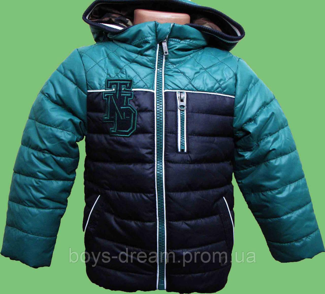 Куртка зимняя на мальчика 2-10 лет ( 98-140 ) Tumble'n Dry.