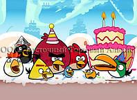 Печать съедобного фото - Формат А4 - Angry Birds - Сахарная бумага