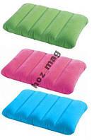 Походная подушка INTEX 68676 цветная 43х28х9 см