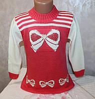 Модный свитер на девочку 4-5 лет