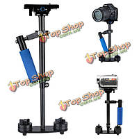На S60 углеродного волокна ручной стабилизатор стедикам для видеокамеры с сумка для фотоаппарата видео с DV камеры DSLR