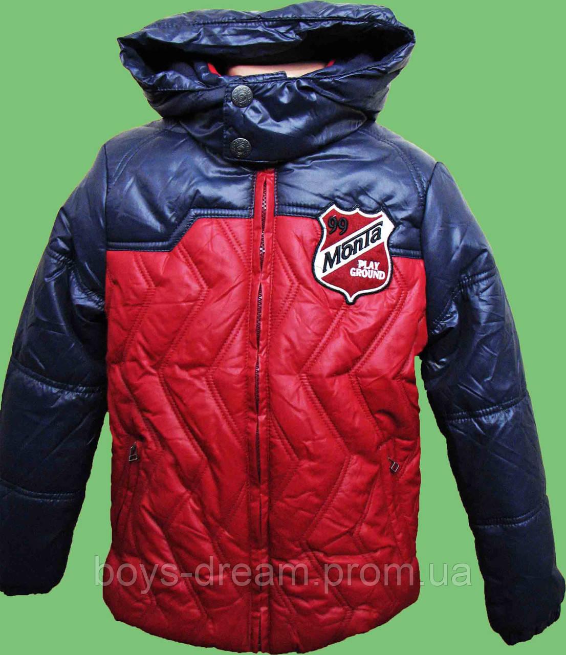 Куртка зимняя для мальчика ( 128-176 ) Monta.
