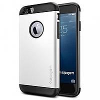 Чехол Spigen для iPhone 6S/6 Slim Armor, Shimmery White, фото 1