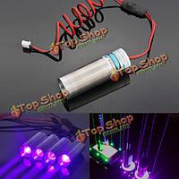 405 нм фиолетовый лазерный модуль 250мвт толщиной луча проектора для бара сцене выставочного стенда lighti
