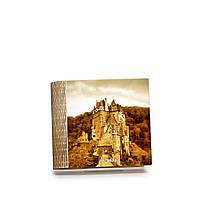 Шкатулка-книга на магните с 4 отделениями Замок в Эльцбурге