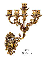 Канделябр настенный на 5 свечей Stilars 222