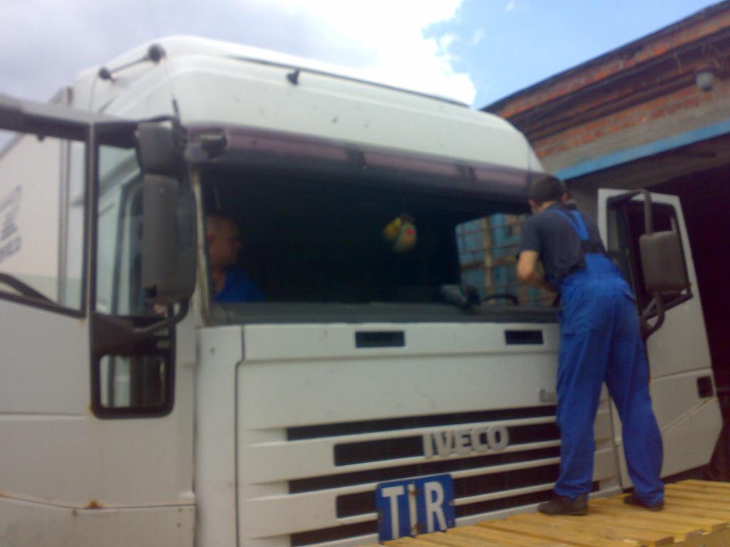 Замена лобового стекла IVECO Euro Star в Днепропетровске