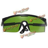 Анти-лазер 532нм Тонированные защитные очки с УФ-защитой для глаз лазерные очки зеленый