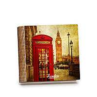 Шкатулка-книга на магните с 9 отделениями Яркий Лондон, фото 1