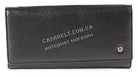 Стильный женский удобный кожаный кошелек SALFEITE art. 2101 черный, фото 1
