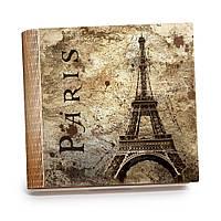 Шкатулка-книга на магните с 9 отделениями XL Париж в стиле ретро, фото 1