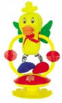 Детская игрушка погремушка уточка на стойке НВ109