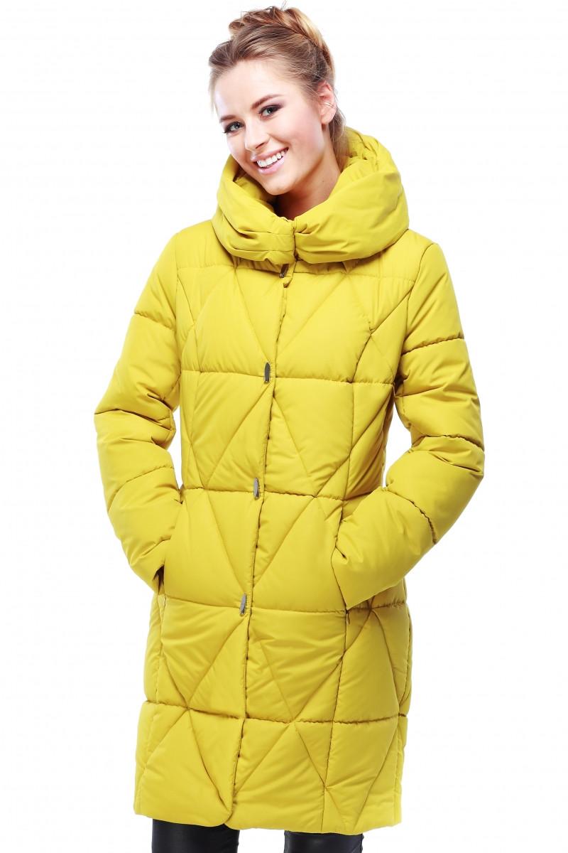 086e7c61b Яркий молодежный зимний пуховик Санта прямого кроя цвета в ассортименте -  Оптово-розничный магазин одежды