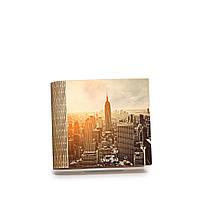 Шкатулка-книга на магните с 4 отделениями Нью-Йорк