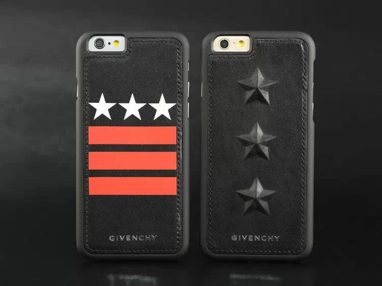 "Iphone 7 / 7 PLUS кожаный чехол панель накладка НАТУРАЛЬНАЯ КОЖА звезды Givenchy """