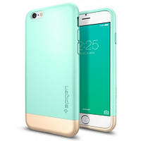 Чехол Spigen для iPhone 6S Plus/6 Plus Style Armor, Mint , фото 1