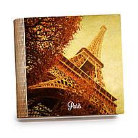 Шкатулка-книга на магните с 9 отделениями XL Осень в Париже, фото 1