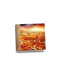 Шкатулка-книга на магните с 4 отделениями Закат над Болоньей, фото 1