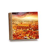 Шкатулка-книга на магните с 9 отделениями Закат над Болоньей, фото 1