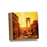 Шкатулка-книга на магните с 9 отделениями Закат над старым Римом, фото 1