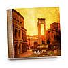 Шкатулка-книга на магните с 9 отделениями XL Закат над старым Римом
