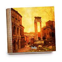 Шкатулка-книга на магните с 9 отделениями XL Закат над старым Римом, фото 1