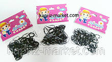Резинки для волос, резиновые, для косичек, набор