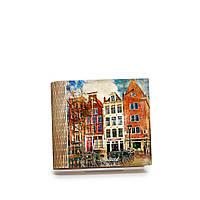 Шкатулка-книга на магните с 4 отделениями Волшебный Амстердам