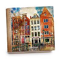 Шкатулка-книга на магните с 9 отделениями XL Волшебный Амстердам, фото 1
