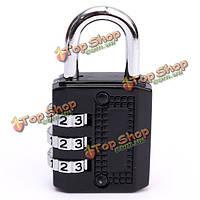 3 наберите комбинацию цифр металла тренажерном зале замка багаж сумку пароль замок