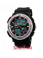Часы наручные Skmei 1109 Black-Steel  1109BS