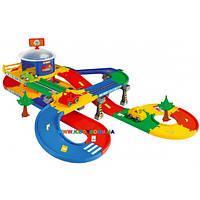 Гараж-паркинг с дорогой Kid Cars 3D 5,5 м Wader 53130
