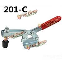 Быстрое освобождение быстрый зажим 201-C горизонтальным Тип струбцина для фиксации заготовки