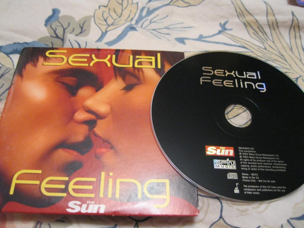 На английском языке SEXSYAL FEELING МУЗЫКА ДИСК из БРИТАНИИ