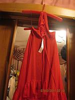 Туника сарафан красная платье 46 М 12 новое яркое нарядное