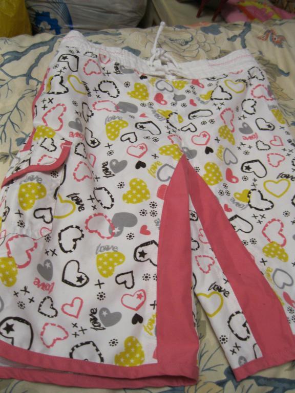 шорти бриджі на дівчинку дитячі кольорові GEORGE