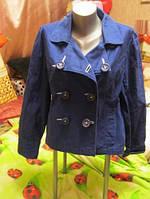 ветровка плащ куртка пиджак женская 50-52-16-18 L фирмаPAPAYA
