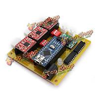 USB на 3 оси с ЧПУ драйвер шагового двигателя плате контроллера для DIY лазерный гравер
