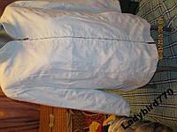 Ветровка куртка женская голубая 16 L 50 шикарная