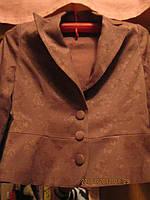 Пиджак очень ИНТЕРЕСНЫЙ качество 44 10 S