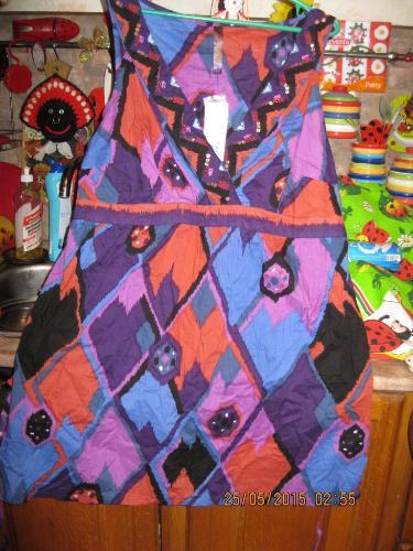 Туника блуза блузка женская х б новая 22 56 XL