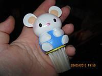 Мышка фигурка сувенир статуэтка кисть щетка мышь сметать пыль с клавиатуры, фото 1