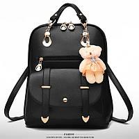 Школьный рюкзак Элит с брелком, цвета в наличии, фото 1