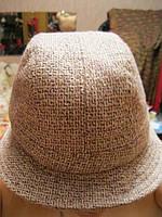 Шляпа шапка отличная светлая стильная фирменная аксесуарс