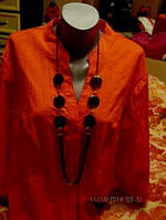 Кофта блуза блузка красная р 30 5XL 62 новая
